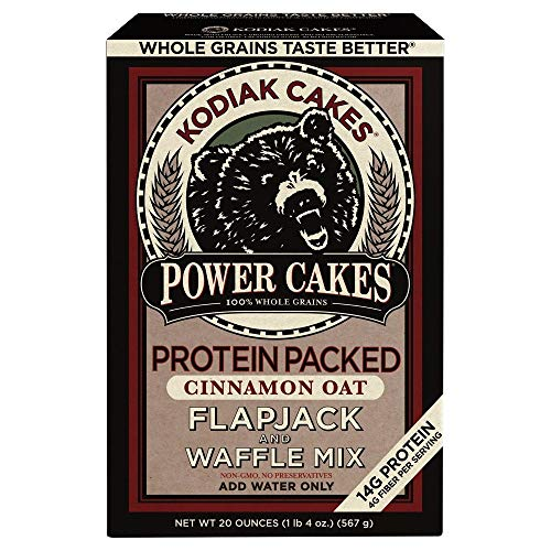 Power Cakes Cinnamon Oat Flapjack amp Waffle Mix Pack of 2