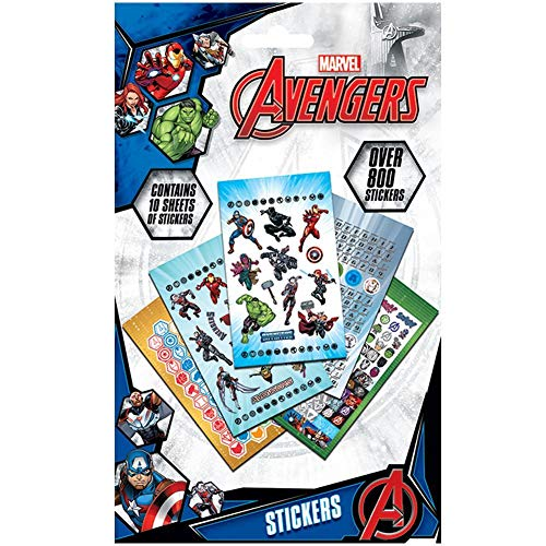 The Avengers Aufkleber-Set