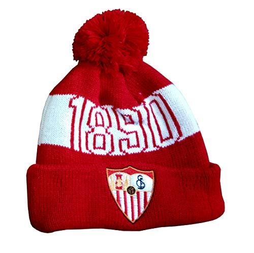 Sevilla CF GORRSEV Gorro Rojo 2018, Unisex Adulto, Talla...