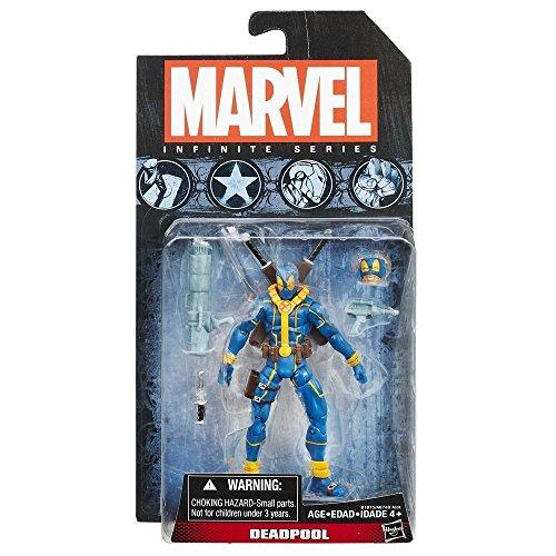 "Hasbro Marvel Infinite Avengers Wave 7 Deadpool Blue 3.75"" Action Figure"