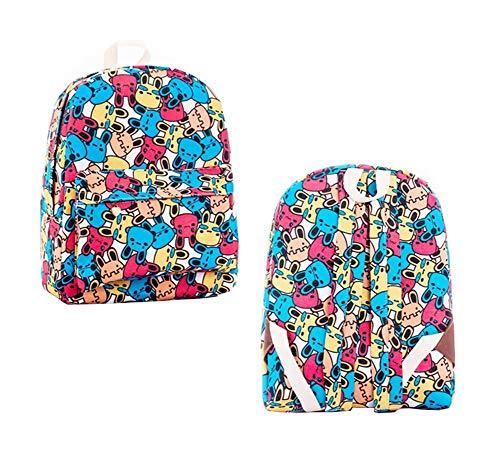 Oinna 1 mochila escolar de lona para niñas, estilo universitario, informal, mochila para niñas