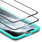 ESR Displayschutzfolie für iPhone XS/X - [3D + Maximaler Schutz] Panzerglasfolie mit...