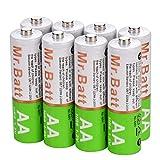 Best Rechargeable Batteries for Solar Lights Mr.Batt