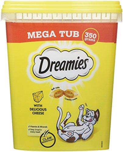 DREAMIES Katzenkuchen mit Käse MegaTub 350g(2er Pack)