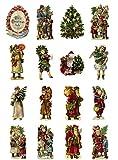 Decoupage Papier Pack Vintage Weihnachten Christmas Santa Tree FLONZ Vintage Retro