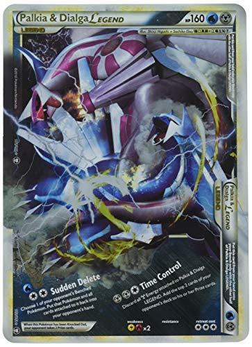 Pokemon Dialga & Palkia Legend Jumbo Oversized Card