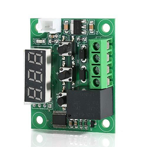 Temperatura W1209 LED azul Controlador Digital de Micro Junta termostato electrónico de temperatura interruptor de control del módulo del sensor de CC de 12V con un solo canal de relé a prueba de agua