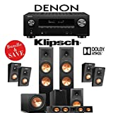 Klipsch RP-280F 5.1.4-Ch Reference Premiere Dolby Atmos Home Theater System with...