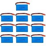 Buon sostituto 3.7 V 780mAh 25c L / I / P / o Batteria 603048 per V626 V636 V686 x250 Q222 V686G R // C Parti quadrocoperti per 3 7 V D / R / O / N / E Batteria-USB Facile da sostituire
