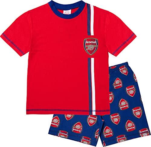 Arsenal F.C. Boys Pyjamas, Cotton AFC Pjs, Official Football Pyjamas for Kids (11-12 Years, 11_years) Red