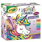 BricoLoco. Super ceraboli Crayola Unicornio. Calienta crayón. Juego de manualidades pintar