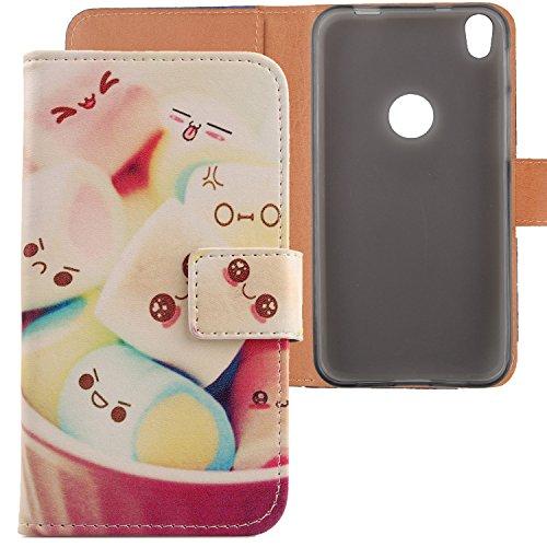Lankashi PU Flip Leder Tasche Hülle Hülle Cover Schutz Handy Etui Skin Für Alcatel Shine Lite 5080X 5 Lovely Design