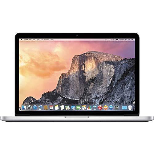 Apple MacBook Pro MF839LL/A Intel Core i5-5257U X2 2.7GHz 8GB 128GB, Silver (Renewed)