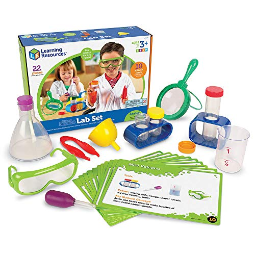 Learning Resources- Set de Laboratorio Primary Science, Color (LSP2784-UK)