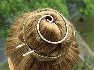 Gold Bun Cover Holder Hair Fork Hair Slide Hair Clip Barrette Hair Pins Bun Pin Gift