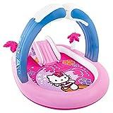 Intex - Centro de Juegos Hinchable, 211 x 163 x 121 cm, diseño Hello Kitty  (57137NP)