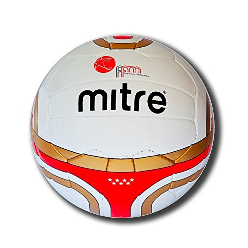 Mitre - Pallone da Calcio Match Originale Ffm (Federación Futbol Madrid) - Taglia 5