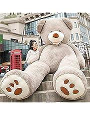 HYAKURIぬいぐるみ 特大 くま/テディベア 可愛い熊 動物 大きい/巨大 くまぬいぐるみ/熊縫い包み/クマ抱き枕/お祝い/ふわふわぬいぐるみ