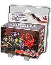 Fantasy Flight Games- SW Imperial Assault - Sabine WREN y Zeb Orellios - Español, Multicolor (SWI56ES)
