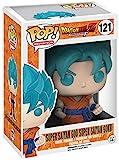 Funko–121–Pop–Manga–Dragon Ball Z–Figura Blue Goku Super Saiyan God
