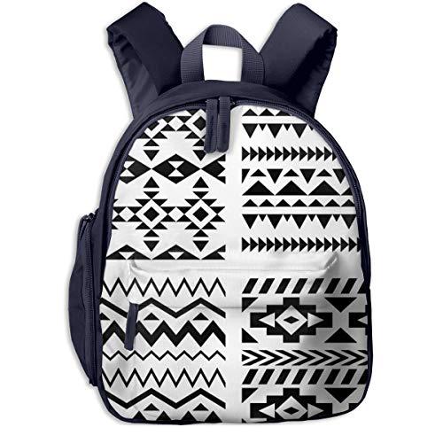 Kinderrucksack Kleinkind Jungen Mädchen Kindergartentasche Geometrisches Dreieck Apache Backpack Schultasche Rucksack