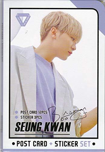 SEVENTEEN(セブンティーン) スングァン (Seungkwan) ポストカード12枚+ステッカー3枚セット 韓国 ap03