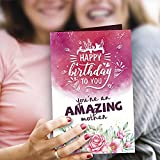 A beautiful Greeting Card to wish your Mom a very happy birthday. MOTHER'S BIRTHDAY GIFT - With this beautiful Greeting Card surprise your real life super hero & let you mom know how much you love her. The product design & pattern depicts the amazing...