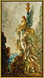 Berkin Arts Framed Gustave Moreau Giclee Canvas Print Paintings Poster Reproduction(Unknown) #XLK