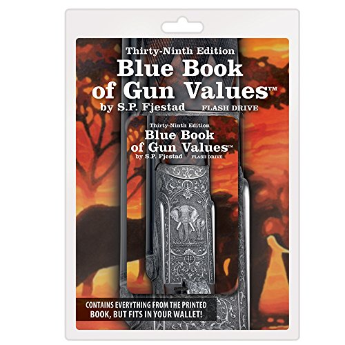 Thirty Ninth Edition Blue Book of Gun Values on Flash Drive