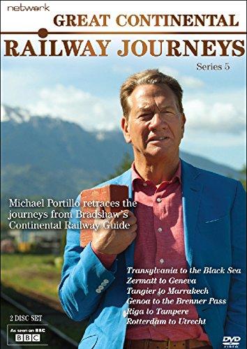 Great Continental Railway Journeys: Series 5 [DVD] [UK Import]
