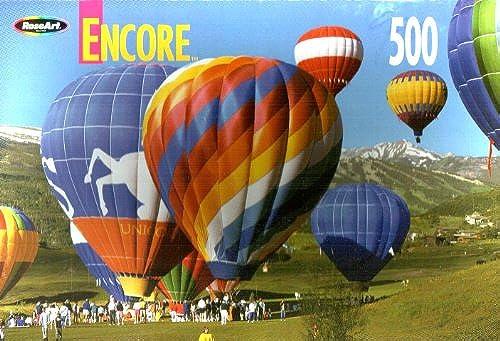 Encore 500 Balloons At Englewood, Farbeado 18x10.75 Jigsaw Puzzle