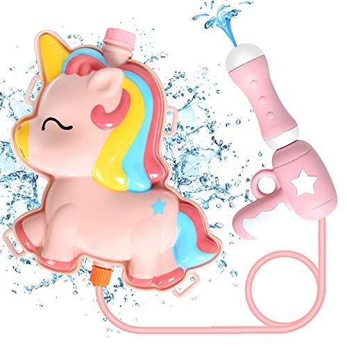 Water Gun, Pool Toy, Squirt Gun for Kids, Backpack Water Gun with 2L...