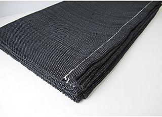 2M 優れた耐火性・耐熱 ,断熱性を保持高温処理した炭化繊維防炎シート 薪ストーブやお仏壇など火の元の心配な場所に(2m×1m) (2M)