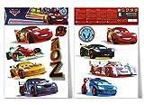 The North Face imagicom walldys33Disney Cars, PVC, Multicolor, 0.1X 42.5X 30.5cm