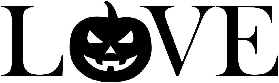 Pumpkin Jack-o-Lantern Halloween Vinyl Sticker Pack Decal Window Car Van