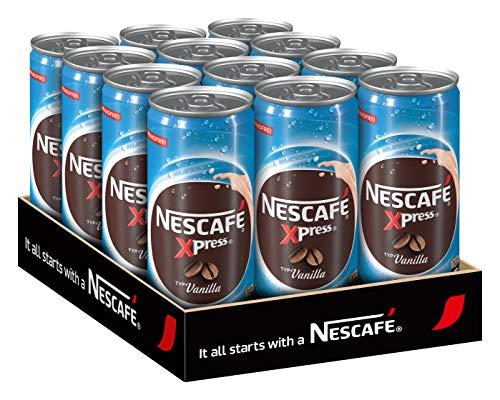 NESCAFÉ Xpress Vanilla, ready to drink Eiskaffee, 12er Pack (12 x 250ml)