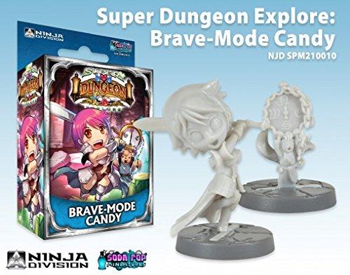 Super Dungeon Explore 247TOYS034 V2 Brave Mode Candy Soda Pop Miniaturen