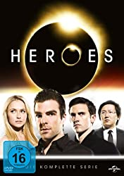 Serie Heroes auf DVD und Blue-Ray
