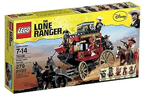LEGO The Lone Ranger - 79108 - Jeu de Construction - L'évasion en Diligence