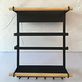 LQQGXLStorage and organization Kitchen refrigerator storage side racks, paper towel racks. (Color  B):Seks-irani