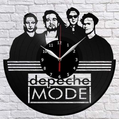 Depeche Mode Vinyl Schallplatte Wanduhr Home Decor Vintage Wandkunst Fan Art Original Geschenk