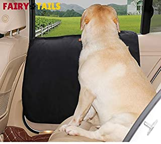 FAIRY TAILS Dog Door Protector Cover Shield Set of 2 Anti-Slip Dirt Proof Waterproof Anti-Scratch
