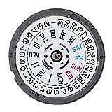 Movimento meccanico automatico, NH35/NH36 ad alta precisione, calendario singolo con movimento da polso.