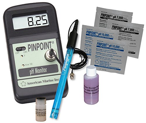 Pinpoint pH Meter KIT Lab Grade Portable Bench Meter Kit for Easy & Precise Digital pH Measurement...