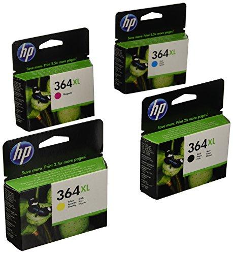 Hewlett Packard  No.364XL Value Pack Ink Cartridges Genuine