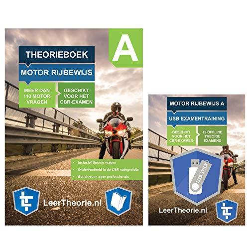 Theorie Leren Motor – met USB   Rijbewijs A motor   Motorrijden boek   Theorie Motorrijbewijs   Motor Examen   Theorie Examen Motor   Motortheorie Boek   Motorfiets Boek – incl. USB met CBR oefenvragen