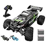 RC Cars 1/18 Scale High Speed 4WD RC Trucks, IVIENX Remote Control Monster Truck for Adults Kids 35+ Km/h, 2.4 GHz All Terrain Off Road Remote Control Car for Kids Boys Girls Adults