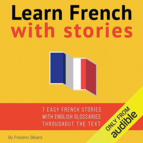 Learn French with Stories audiobook cover art