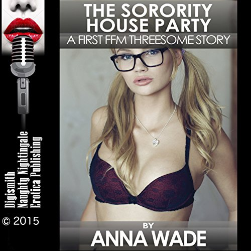 The Sorority House Party audiobook cover art