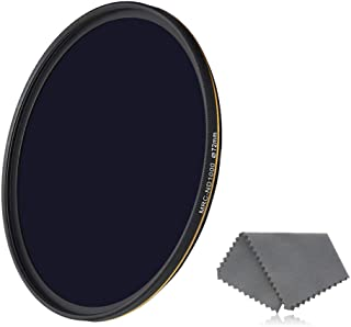 10 Stop Neutral Density ND Filter Water//Oil//Dust Proof Neutral Grey ND Lens Filter for Camera Lens Ultra-Thin Frame Design Optics Glass Neewer 55mm PRO ND1000 Filter Multi-Layer Coating